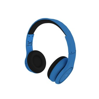 Decibel Technology Bluetooth Headphone Jackhammer (Blue) - 2
