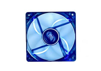DeepCool ICE Blade Fan PWM Case Fan Hydro 3Pin Molex 21.4~32.1db900~1500rpm (Transparent Black Frame/Blue LED) - 2