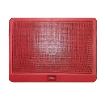 DeepCool N19 LED SuperSlim Blue Light Fan NoteBook Cooler Pad (Red)