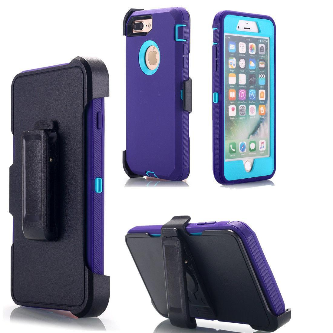 ... Defender Heavy Duty Case Cover (BOX Belt Clip Fits Otter) For AppleIPhone 6 Plus ...