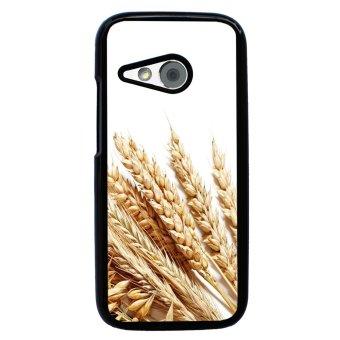 Devil Cross Chevron Pattern Phone Case for HTC One M8 Mini (Black)