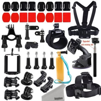 Deyard GoPro Accessories Kit for GoPro Hero 5 / Hero 5 session/ Hero Session/ Hero 4 3+ 3 2 Xiaomi Yi/ 4K SJ4000 SJ5000 and other Outdoor Action Camer