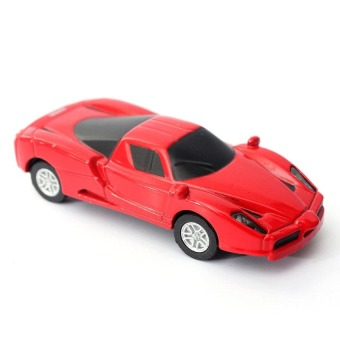 Digistore 16GB Sports Car Novelty USB Flash Drive (Red) - picture 2