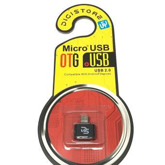 Digistore Micro USB to USB OTG Mini Adapter (Black) - 2
