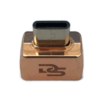 Digistore Type C to USB 3.1 OTG Mini Adapter (Rose Gold)