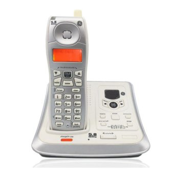 Digital Cordless Wireless Telephone With Call ID Answer SystemBacklit Landline Phone For Office Home Bussiness - intl