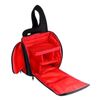 Digital DSLR Sling Camera Bag For Camera and Accessory(red) - intl - 4