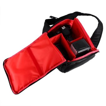 Digital DSLR Sling Camera Bag For Camera and Accessory(red) - intl - 2