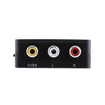 Digital HDMI to RCA Composite Video Audio AV CVBS Adapter Converter720p/1080p (Black) - intl - 5
