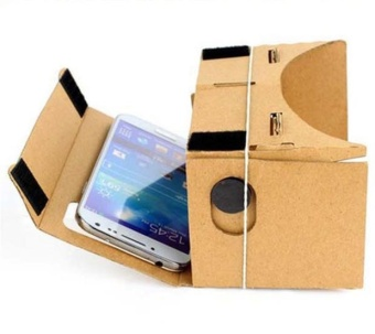 DIY Cardboard Quality 3D Vr Virtual Reality Glasses For Google -intl