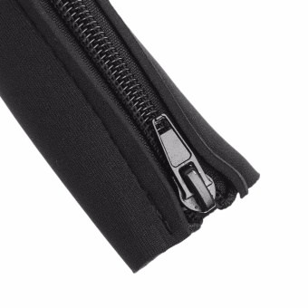 DIY Neoprene Cable Management Sleeve Zipper Wrap Wire Hider Cover Organizer - intl - 4