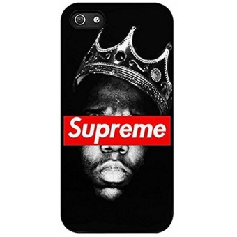 Diy supreme crowns notorious for Iphone Case (iPhone 6s plus Black)- intl Price Philippines