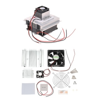 DIY Thermoelectric Peltier Refrigeration Cooling System KitSemiconductor Cooler Conduction Module + Radiator + Cooling Fan +TEC1-12706 - intl