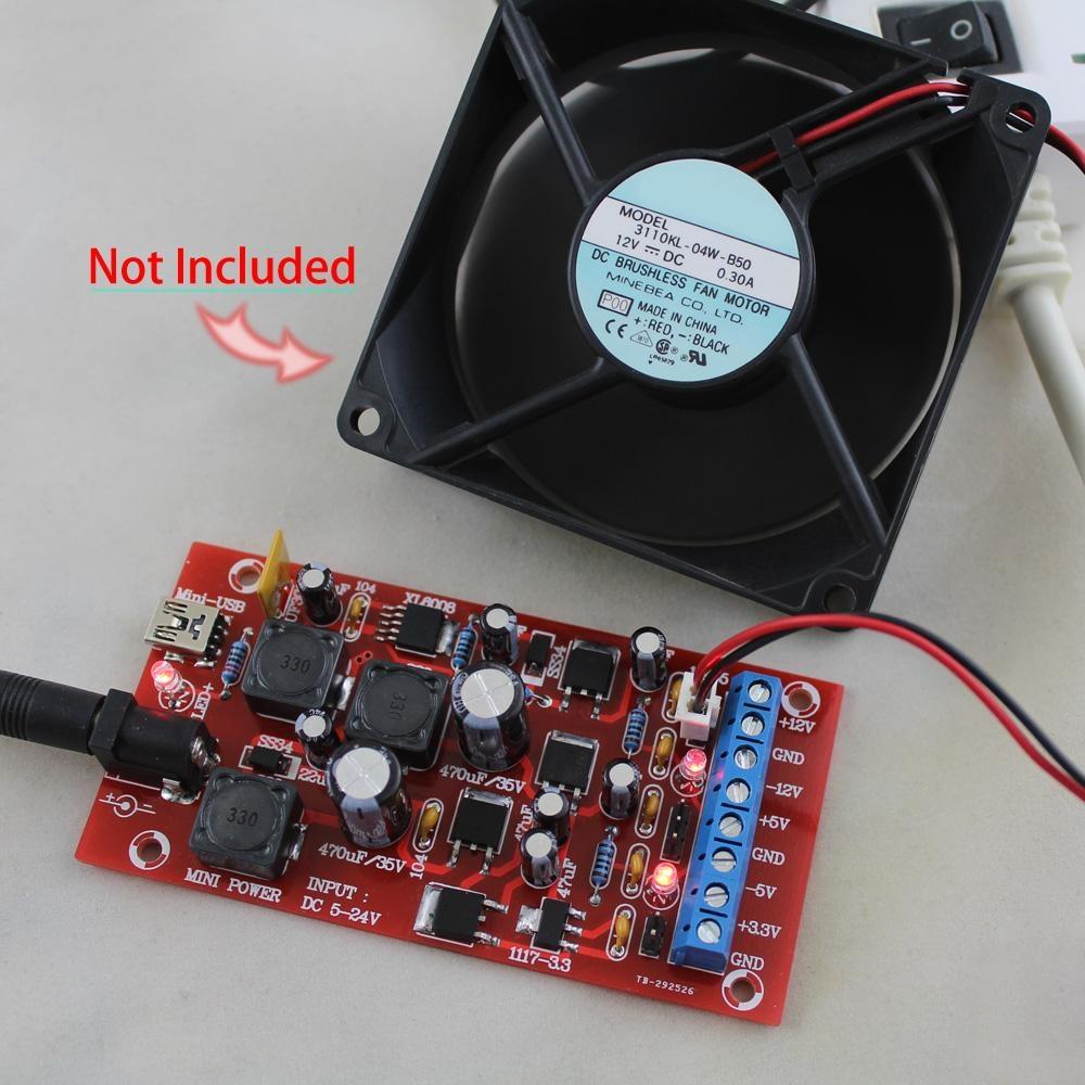 Philippines | DIY USB Boost Single Turn Dual Power Supply