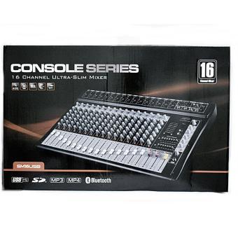 DJ SCORPIO SM16 USB/BLUETOOTH 16 CHANNEL ULTRA SLIM MIXER - 2