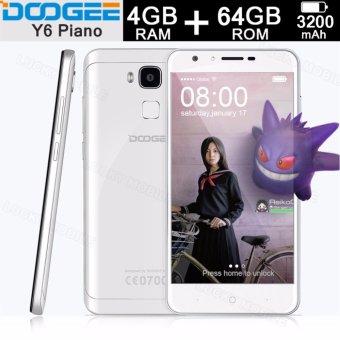"Doogee Y6 Piano 5.5"" inch 4GB RAM 64GB ROM Octa Core 1.5GHz (White)"