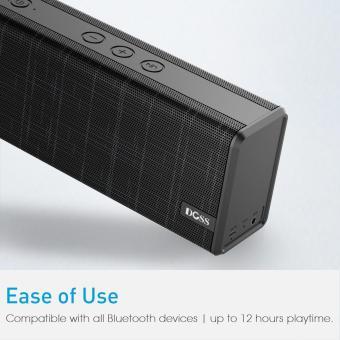 DOSS SoundBox Color Portable Wireless Bluetooth Speaker - 3