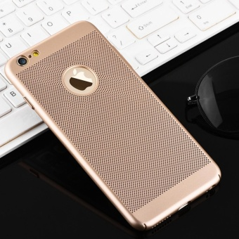 Dotted Heat dissipation case cover for Apple iPhone 6 Plus / 6sPlus(gold) - intl