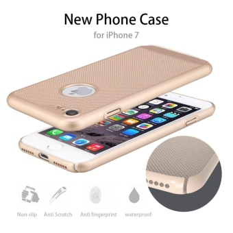 Dotted Heat dissipation case cover for Apple iPhone 6 Plus / 6sPlus(gold) - intl - 3