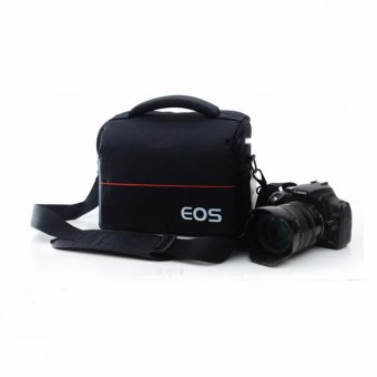 DSLR Bag Waterproof Camera bag/Case for Canon Canon 5DII 6D 7D 7DII60D 70D 80D 600D 700D 750D 100D Digital SLR Video Photo Bags - intl