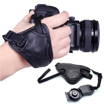 DSLR Camera Grip Wrist Hand Strap Universal for Canon Nikon SonyPentax - intl