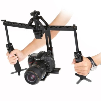 Dual Gimbal Handgrips Steadicam Handheld Mechanical Stabilizer ForCamera - intl