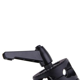 Dual Head Grip Swivel Head Holder Bracket for Studio flash Reflector Boom (Intl) - 4