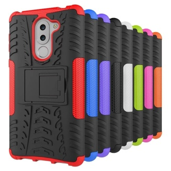 Dual Layer Shock-Absorption Armor Cover Full-body Protective Case with Kickstand Combo PC+TPU for Huawei Honor 6X / Mate 9 Lite / GR5 2017 - intl - 5