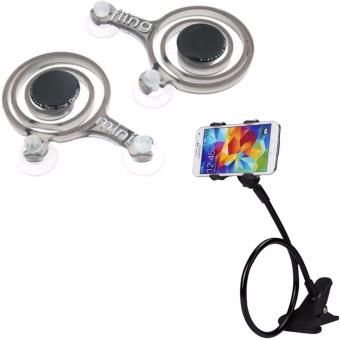 Dual Mini Fling Analog Joystick for Mobile Devices With FreeLazypod (Color May Vary)