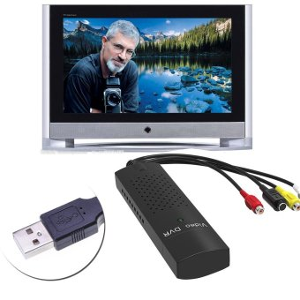 DVD DVR USB 2.0 Capture Video Adapter Converter Cable with Stereo Audio RCA S-Video Input for PC Laptop - intl - 5