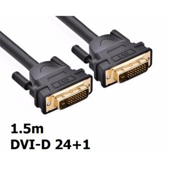 DVI D 24+1 To DVI-D Gold Male Pin Dual Link TV Cable