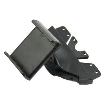 Dynamics 360 Degree Car CD Slot Mount Mobile Phone Holder (Black) - 3
