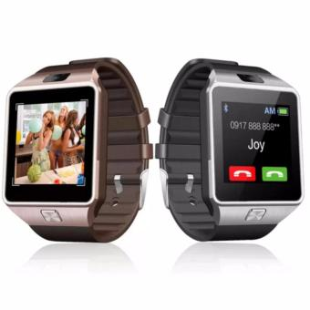 DZ09 Bluetooth Smart Watch Phone Smartwatch Set of 2(Gold/Silver)