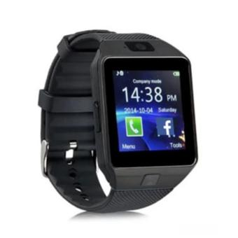 DZ09 Quad Bluetooth Touch Screen Smart Watch (Black)