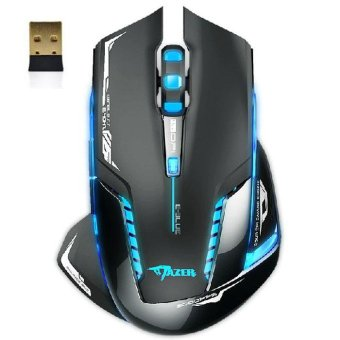 E-3lue 6D Mazer II 2500 DPI Blue LED 2.4GHz Wireless Gaming MouseBlack - intl Price Philippines