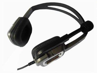 E-wave A-81 Stereo Headphone (Grey)