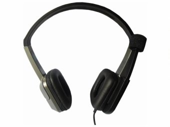 E-wave A-81 Stereo Headphone (Grey) - picture 2