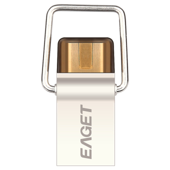 Eaget CU10 USB3.0 to Type-C OTG 32G Flash Pen Drive USB Disk for New Macbook Laptop Desktop - Intl