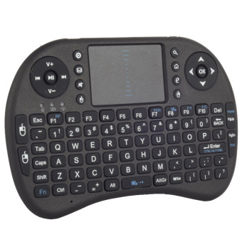 Easybuy 2.4G Mini Wireless Keyboard Air Fly Mouse Touchpad For TVBOX PS3 360 PC (Black) - Intl