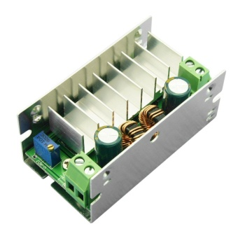 ebamaz 6-35V to 1-35V DC/DC Buck/Boost Charger Power ConverterModule With Aluminum Silver - intl