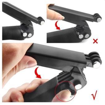 Ebuy yu Universal Waterproof 3-Ways Monopod For Action cam GoProHero 4/2/3/3+/SJCAM SJ4000/Xiaoyi - 3