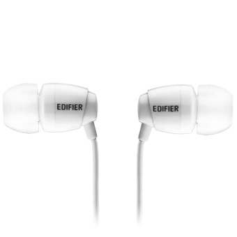 Edifier H210 Stereo Headset In-ear Music Earphone with Mic&control Universal (white ) - 2