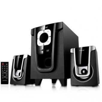 Eilenkay 2.1 ELK-07Z Sub woofer Multimedia Bass Speaker (Black)