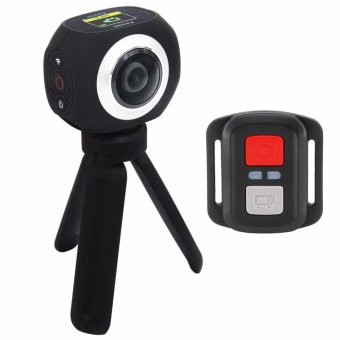 EKEN Pano360 2.4G Remote Splash proof 360? Panoramic Camera (Black) Price Philippines
