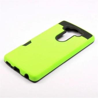 Elaike Case For LG V10 Armor Metal Silicon TPU +Hard PC ShockproofCard Slot Case Cover