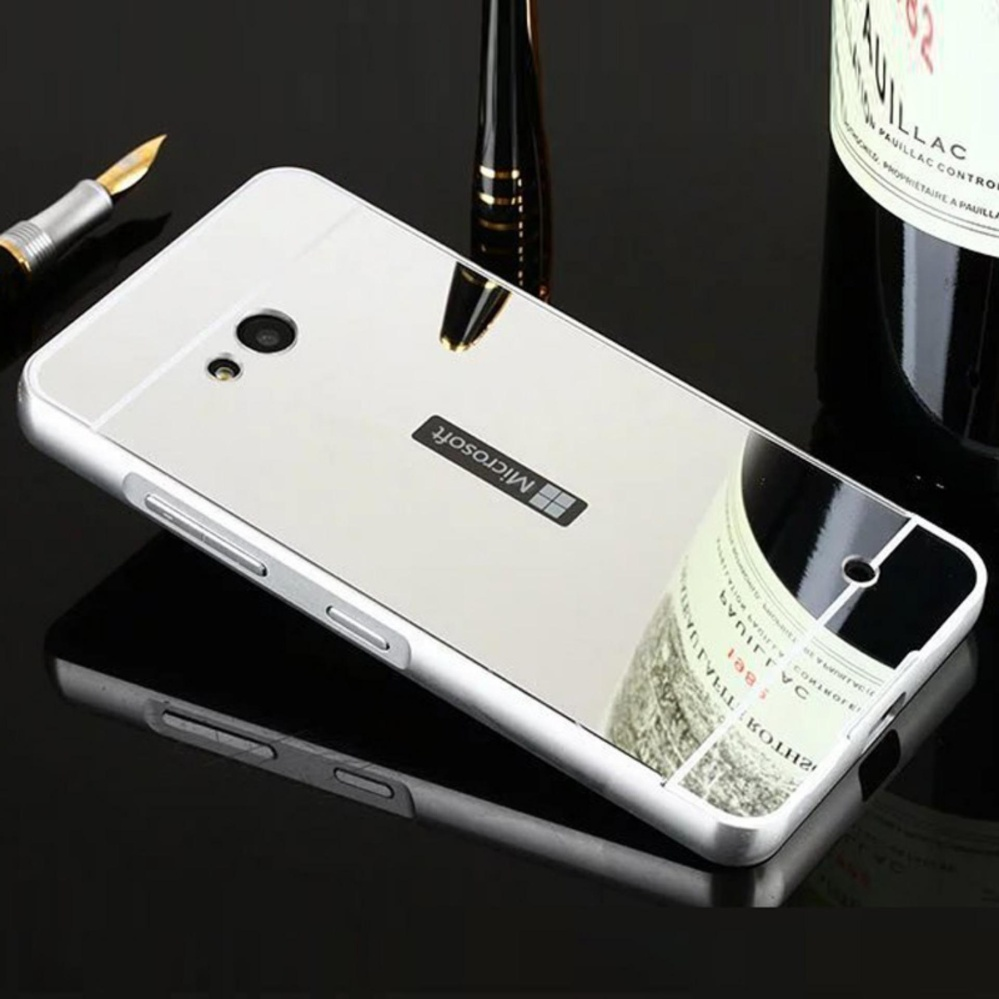 For Sony Xperia Z3 Compact Mirror Push Pull Back Shell Cover Source · Elaike For Nokia Lumia 730 2 in 1 Luxury Aluminum Metal Mirror PC Phone Cover Case