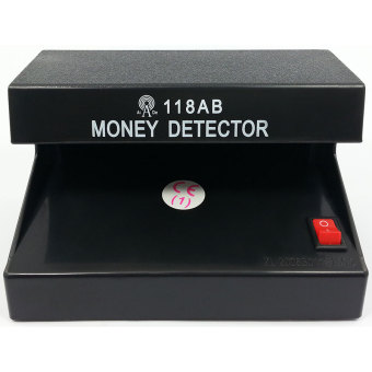 Electronic UV Light Money Detector Bill Currency AuthenticityChecker (Black)