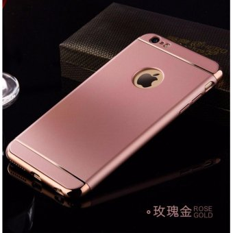 Elegance Luxury 3in1 Protection Cover For iPhone 6 6s case(rose gold) - intl - 2