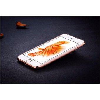 Elegance Luxury 3in1 Protection Cover For iPhone 6 6s case(rose gold) - intl - 3