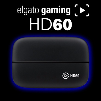 Elgato Game Capture HD60, for PlayStation 4, Xbox One and Xbox 360,or Wii U gameplay, Full HD 1080p 60fps - intl